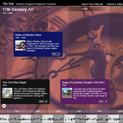 Heritage Schools Timelines section thumbnail image